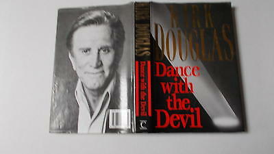 Dance with the Devil by Kirk Douglas 1st UK edition 1990 Vg in unclipped wrapper