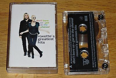 ROXETTE Don't Bore Us - Get To The Chorus - Greatest Hits (1995) 18 Tracks EMI