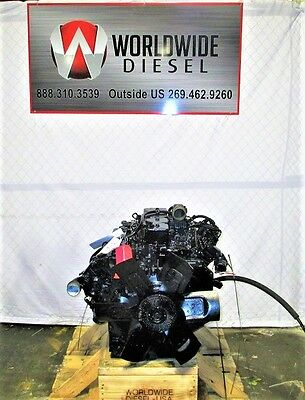 Cummins 4BT Mechanical Diesel Engine 130HP Approx. 109K Miles