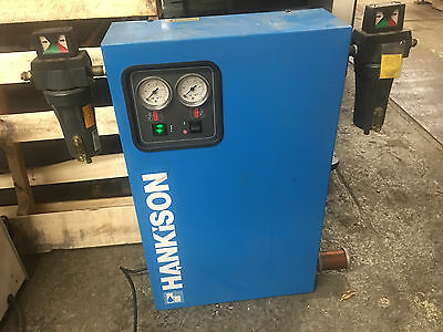 * HANKISON COMPRESSED AIR DRYER 6F596 Two HF7-12-3DPL Air Line Filters