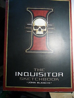 Warhammer 40k Black Library The Inquisitor Sketchbook John Blanche rare artbook