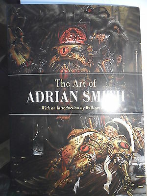 Warhammer 40k Black Library The Art of Adrian Smith rare large format