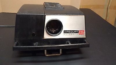 Vintage Airequipt 135 Automatic 2x2 35mm Slide Projector With Remote - Tested