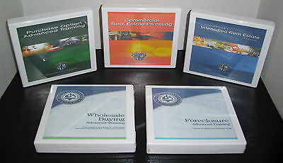 Russ Whitney Advanced Training Real Estate Dvd Series Complete Sets 5 Courses