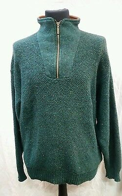 Mens Orvis Wool Jumper Size Large