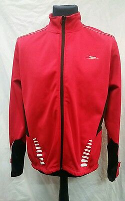 Mens Crane Soft Shell Cycling Jacket Size Large