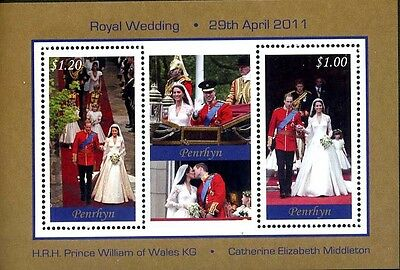 Penrhyn  #502, William & Kate Wedding **NH** and GREAT