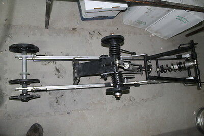 "2008 Skidoo 800 Summit Xp Rear Back Frame Skid Suspension 154"" #185"