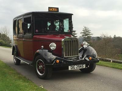 Asquith 1930s style London Taxi