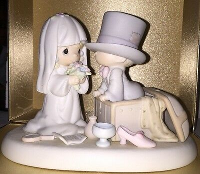 Precious Moments Heaven Bless Your Togetherness Figurine 106755 1987