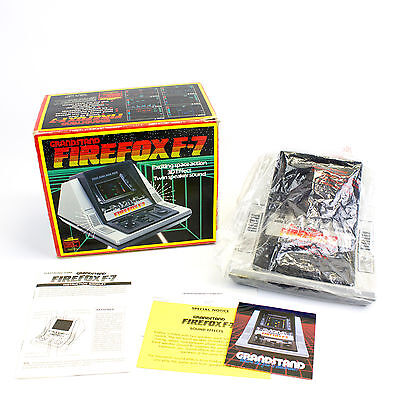 Vintage Firefox F-7 VFD Video Game by Grandstand, Boxed, CIB, VGC, VTG