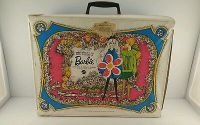 World Of Barbie Vintage 1968 Double Doll Case