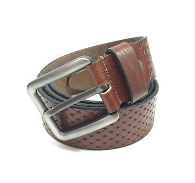 MENS  Brown  Leather Belt Suitable For 38 To 42 (3412)