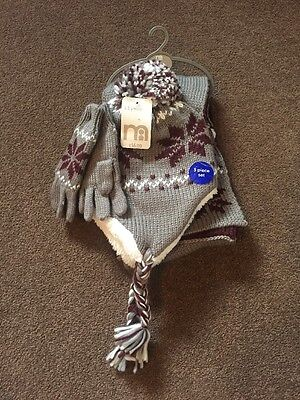 Mothercare Boys Hat Scarf And Gloves Set