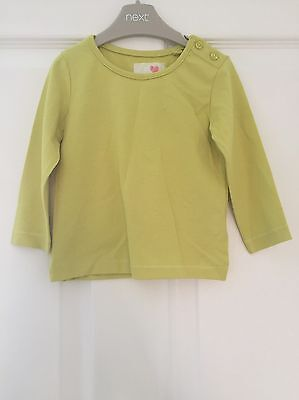 Next Baby Girl Long Sleeved Top 6-9 Months