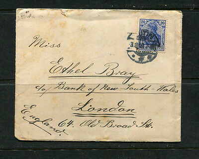 Germany Early Vintage Stamp Cover  To London Uk
