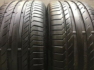 2 x 245 40 18 Continental Contact5 SSR %95 Tread . Fitting Available, Freight