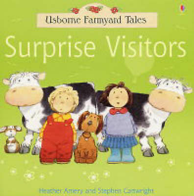 USBORNE  the SURPRISE VISITORS ( FARMYARD TALES)   21 x 21 cm paperback
