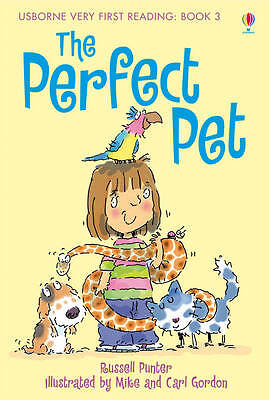 NEW USBORNE Very First Reading (3)  the PERFECT PET paperback