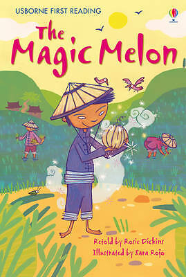 NEW USBORNE First Reading ( LEVEL TWO ) the MAGIC MELON paperback Leve 2