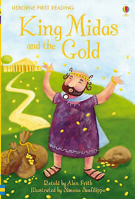 NEW USBORNE First Reading ( LEVEL ONE ) KING MIDAS and the GOLD paperback 1