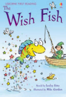 NEW USBORNE First Reading ( LEVEL ONE ) the WISH FISH paperback 1