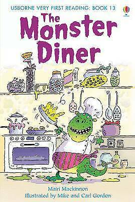 NEW USBORNE Very First Reading (13) the MONSTER DINER paperback