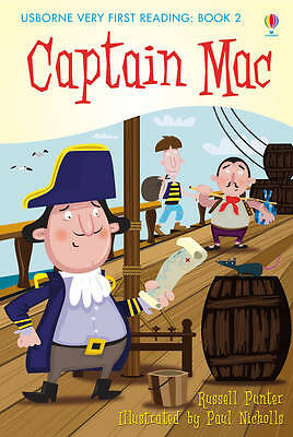 NEW USBORNE Very First Reading (2) CAPTAIN MAC paperback