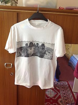 U2 Joshua Tree Tour 1987 T Shirt With Tour Dates On Back Of Shirt