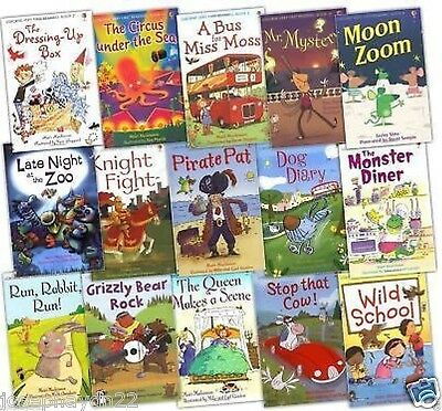 NEW USBORNE 15 book set MY LEARN TO READ LIBRARY (Level One ) £59.85   1