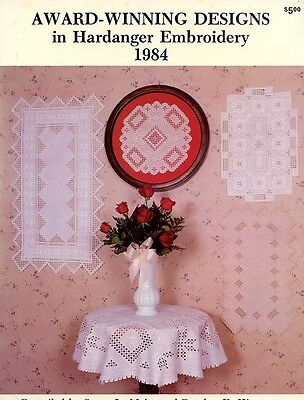 Award-Winning Designs in Hardanger Embroidery 1984 Pattern Leaflet
