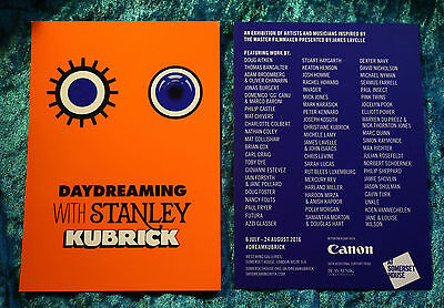 Daydreaming with Stanley Kubrick exhibition Promotional Postcard