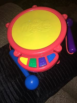 The Wiggles Toy Drum Musical Electronic Singing 2004 Spin Master