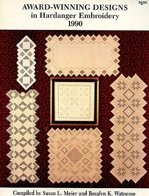 Award-Winning Designs in Hardanger Embroidery 1990 Pattern Leaflet