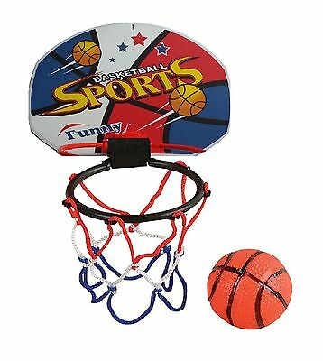 Mini Basketball Kids Office Indoor Desk Toy Basket Ball Hoop Ring With Ball