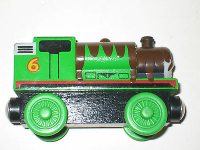 Chocolate Covered Percy-Thomas the Train Wooden Friends
