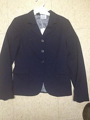 DEVON AIRE Concour ELITE Competition Hunt COAT *Girls 14R *Black *Beautiful
