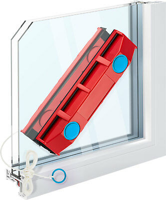 New Glider D2 Double Glazed Glass Magnetic Window Cleaner Tool Cleaning Squeegee