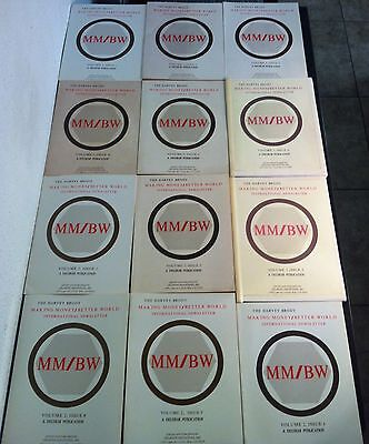 International Newsletter Harvey Brody Complete All Issues