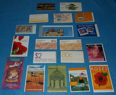 Australia Post Stamp Booklets  - Choose Individual Booklet