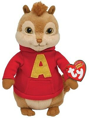 Ty ALVIN the Chipmunk (Alvin and the Chipmunks) Beanie Baby - MINT with MINT TAG