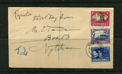 South Africa 1945 Fdc First Day Stamp Cover Cds Nylstroom