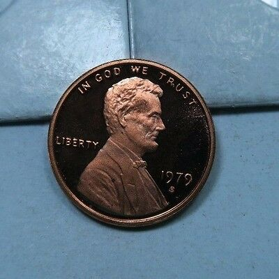 1979-S *Type 2* Lincoln Memorial Penny //  Gem Proof *DCAM* (P476)