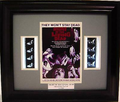 Night Of The Living Dead Framed Movie Film Cell George Romero