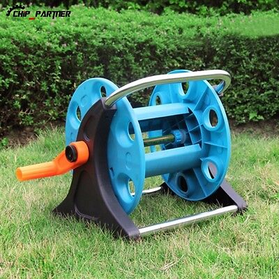 1PC Portable Hose Reel Pipe Holder Storage Stand Hose Car for Garden Watering