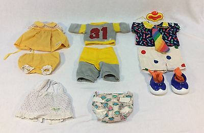 Lot of 4 Vintage Original Cabbage Patch Kid Doll Outfits