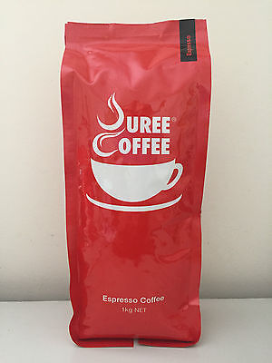 3 x 1kg Espresso Whole Roasted Beans + Free Grind