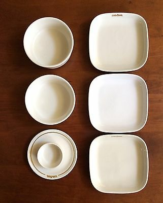 Vintage USAir Airlines Airways First Class 7pc China