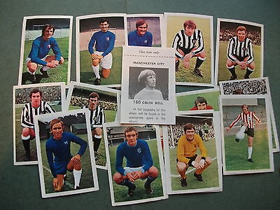 Fks Football Stickers  Year  1971 / 1972.
