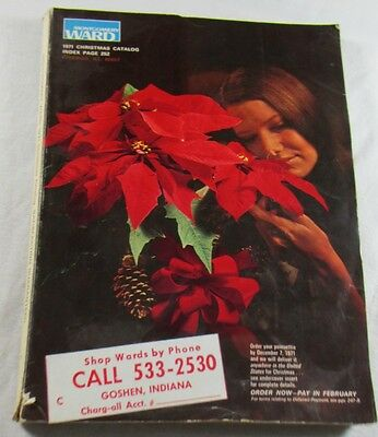 1971 Montgomery Ward Christmas Catalog Toys